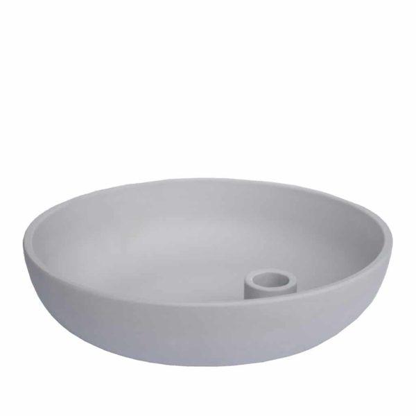 Storefactory Lidatorp kynttilänjalka harmaa L