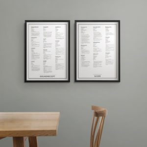 grundrecept - printti