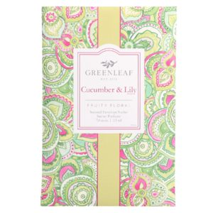Greenleaf tuoksupussi cucumber & lily