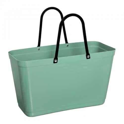 hinza green plastic laukku oliivi