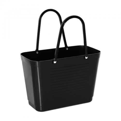 hinza green plastic laukku musta S
