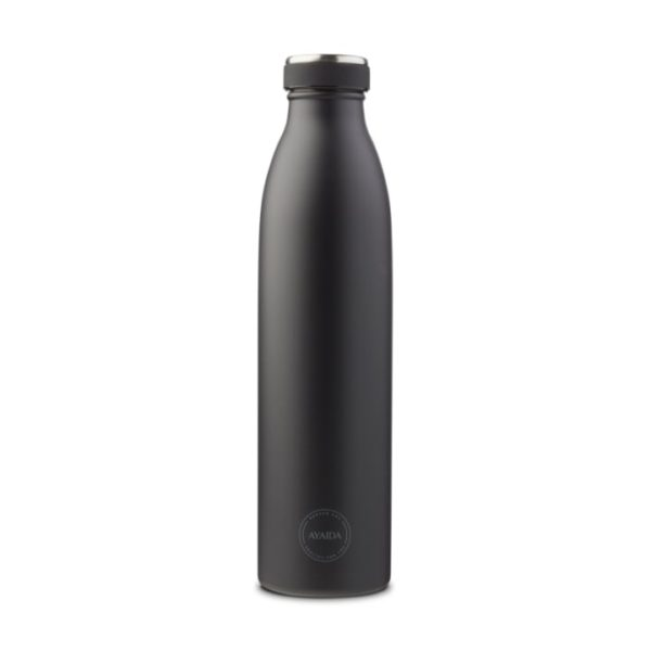 ayaida juomapullo matte black 750ml