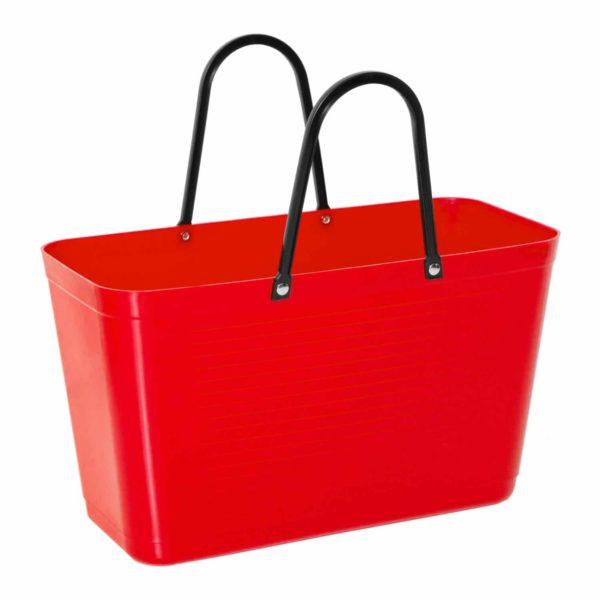 Hinza laukku punainen