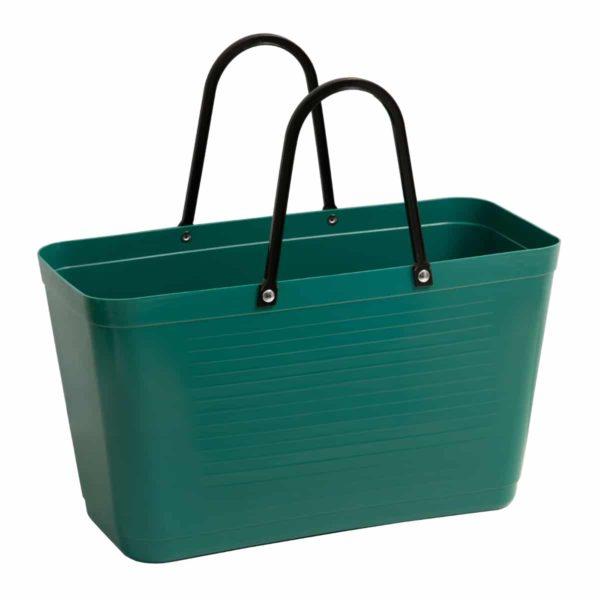 hinza laukku tummanvihreä
