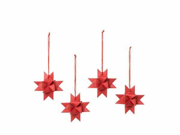 Broste Copenhagen Punaiset joulukoristeet