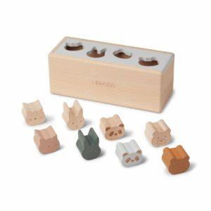 Lastentuotteet Liewood Puinen Midas Puzzle Box