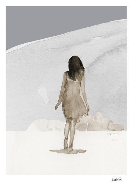 Anna Bülow taidejuliste SUMMER 30x40