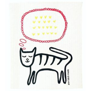 ann bäck made cat with hearts