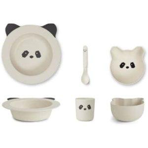 Liewood panda ruokailusetti