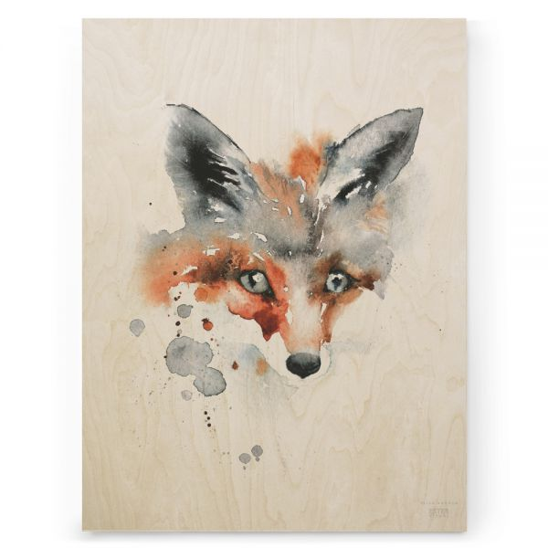 Plywood Print Ester Visual Vanerijuliste KEttu